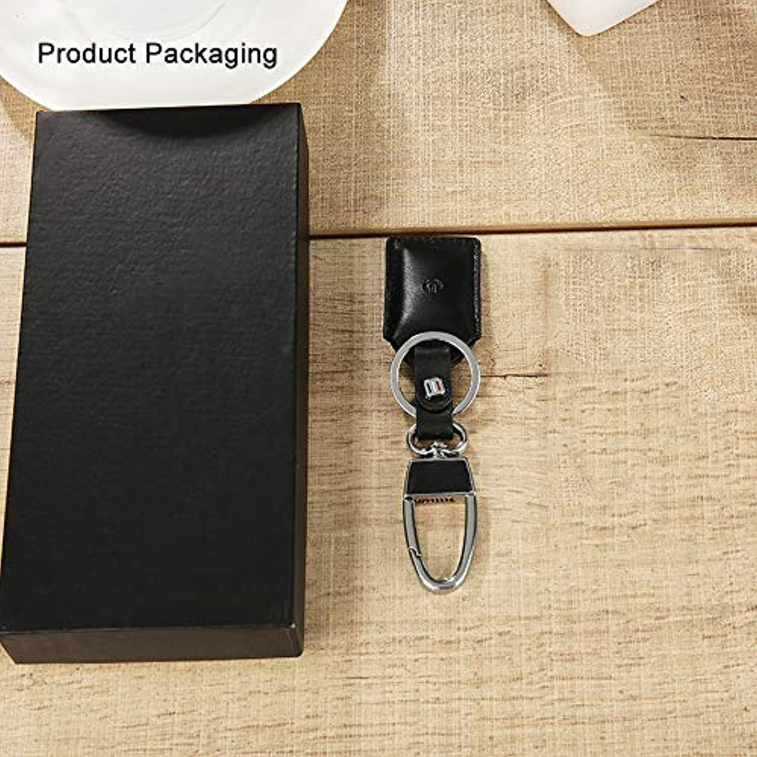 Lmfens--Multifunctional Leather Keychain Intelligent Anti-Lost Alarm, Smart Lost Positioning