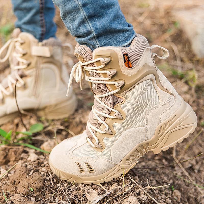 Men Military Tactical Boots Desert Combat Outdoor Shoes