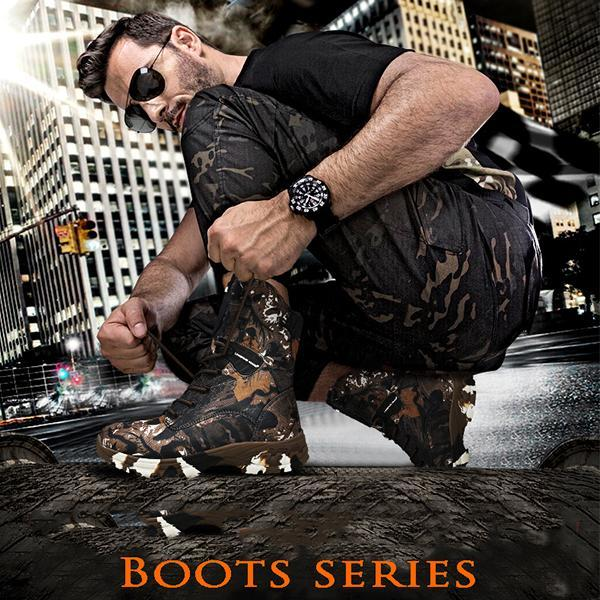 【Last Day Promotion-50% OFF-】American Tactical Waterproof Camouflage Military Shoes