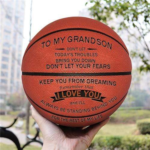 To My GrandSon- Basketball - I Love You