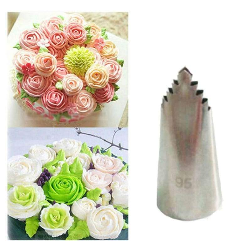 Dessert decorators russian baking stainless steel nozzle cake decoration pipe