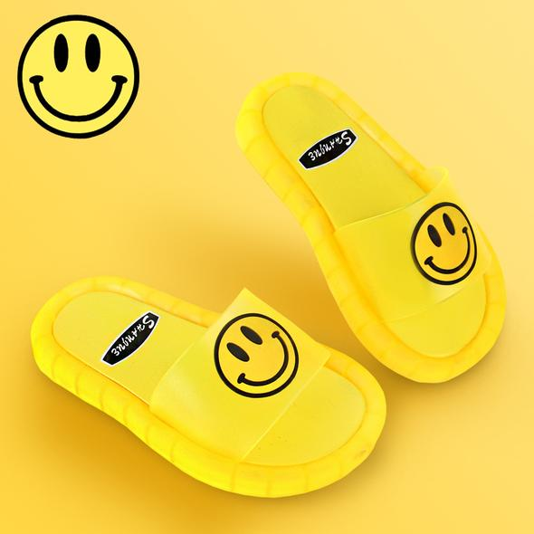 SMILE LED LIGHT KIDS SOFT BASE SLIPPER( Buy 2 Free Shipping)