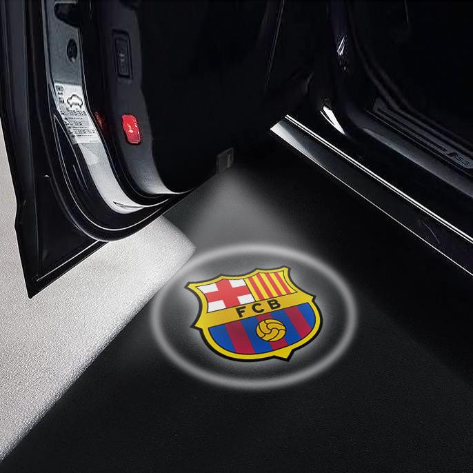 CarFitg Wireless Led Car Door Projector Puddle Logo Light - Barcelona