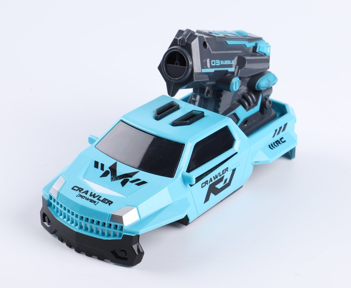 1:10 Competitive racing - 3 weapon style shell options