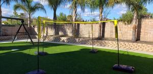 (Free Shipping)Cross volleyball net