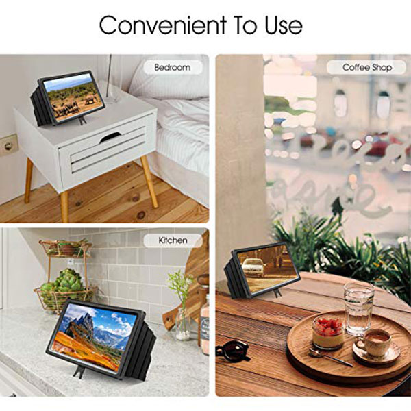 3D HD Mobile Phone Screen Magnifier