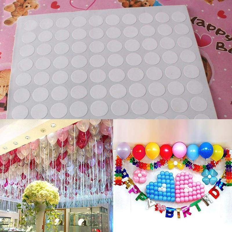 Stickers balloon sticky envelope adhesive candle 100pcs