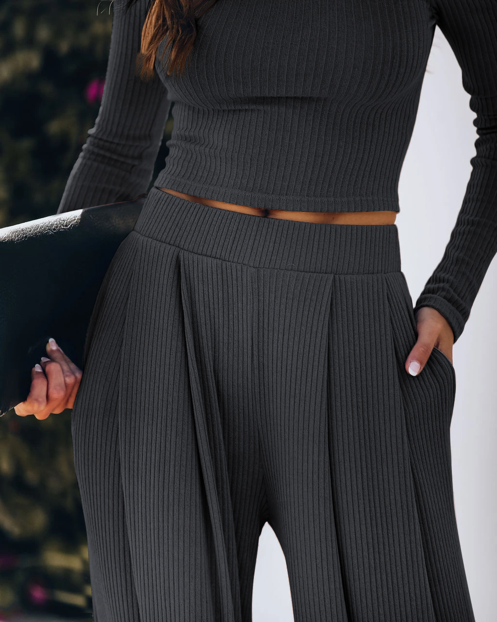 2020 Women's Long-sleeved Trousers Suit