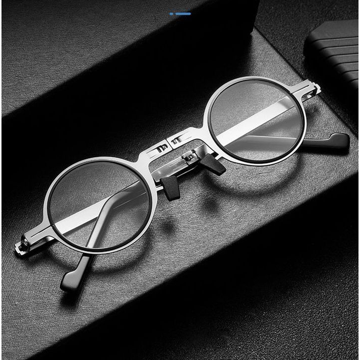 Ultra Light Titanium Material Screwless Foldable Reading Glasses