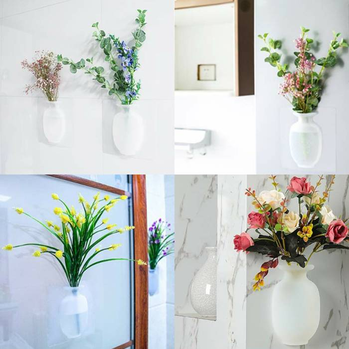 [BUY MORE SAVE MORE] Magic Traceless Silicone Flower Vase