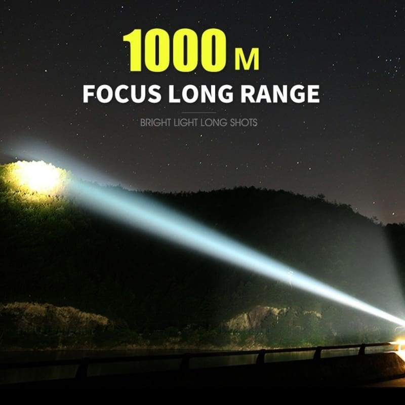 Superbright Powerful LED Flashlight XHP50 Torch USB Rechargeable Waterproof Lamp Ultra Bright 3 Modes L2/P70 Flashlight