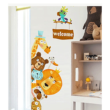 Decorative Wall Stickers - Plane Wall Stickers Animals / Holiday Dining Room / Kids Room