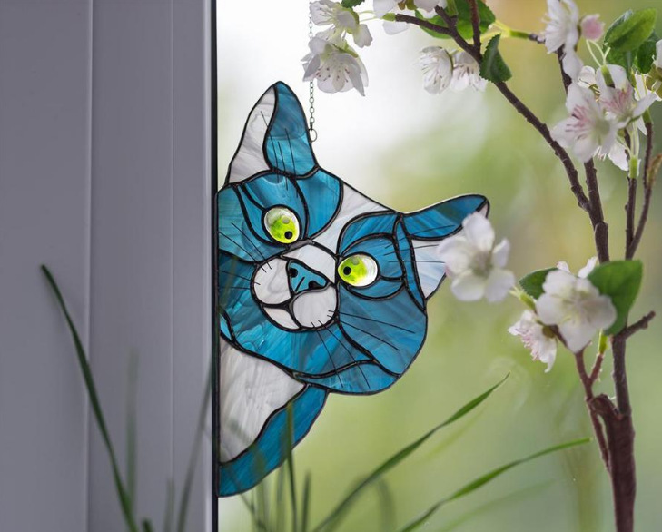 LIMITED TIME SALE !🔥🔥CAT SUNCATCHER PERFECT GIFT FOR CAT LOVERS