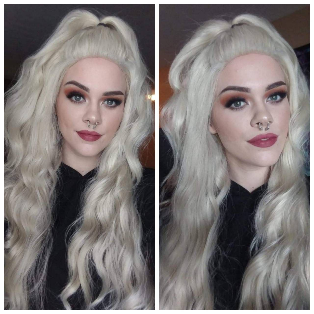 2021 New Lace Front Wigs Rose Gold Ombre Hair Shampoo For White Hair Turning Black Black Henna Powder