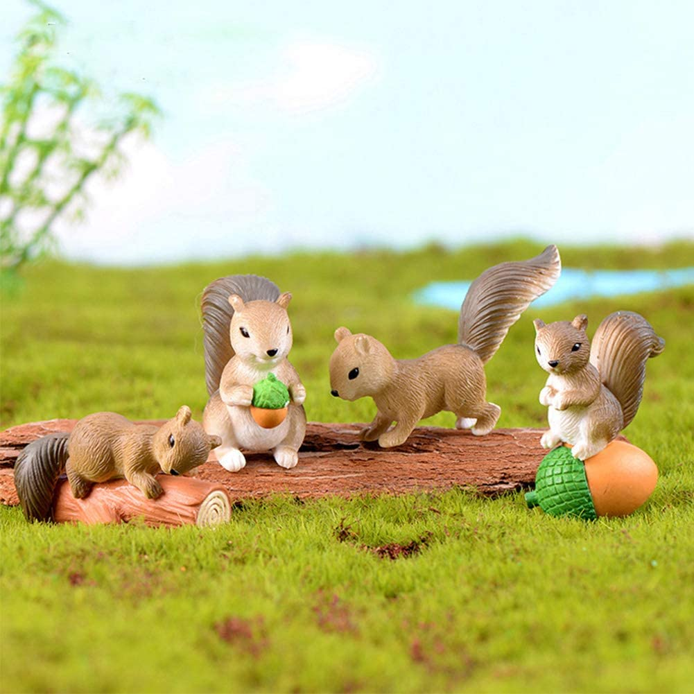 50% OFF Today-Cute Squirrels Decorations