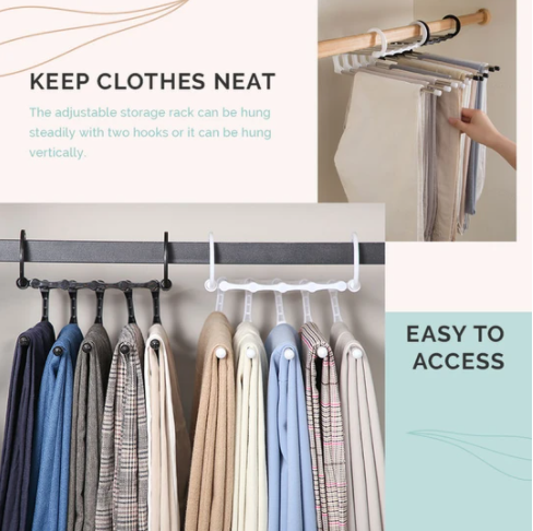 🔥Christmas Specials🔥 50% OFF--Multi-functional Pants Rack