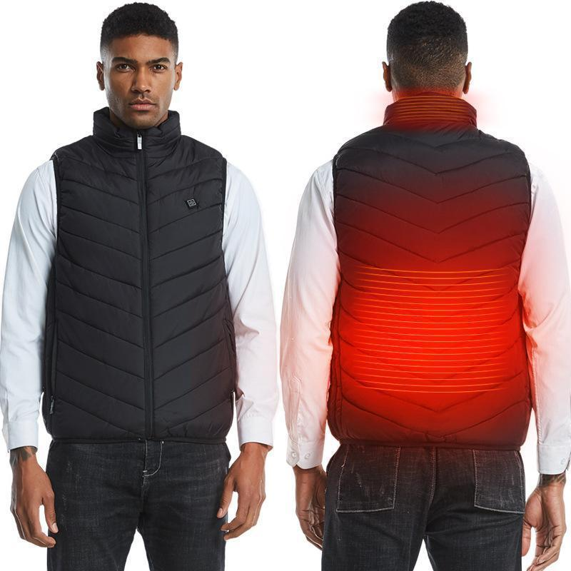 (Last Day 50% OFF!!!)Unisex Warming Heated Vest-Buy Two Free Shipping