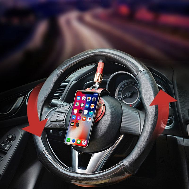Steering Wheel Magnetic Gyroscope Car Mobile Phone Mount