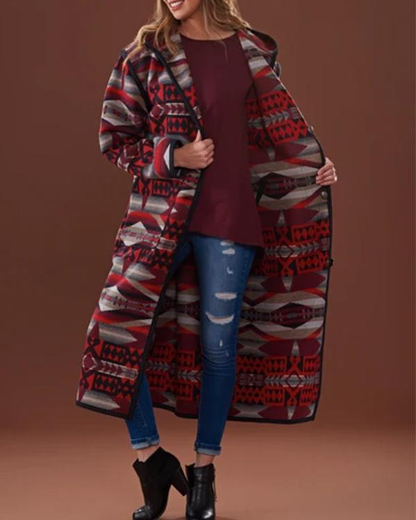 Double Sided Casual Overcoat