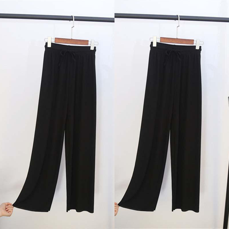 【50% OFF For A Limited Time】Ice Silk Wide Leg Pants Women -BUY 2 EXTRA 15% OFF