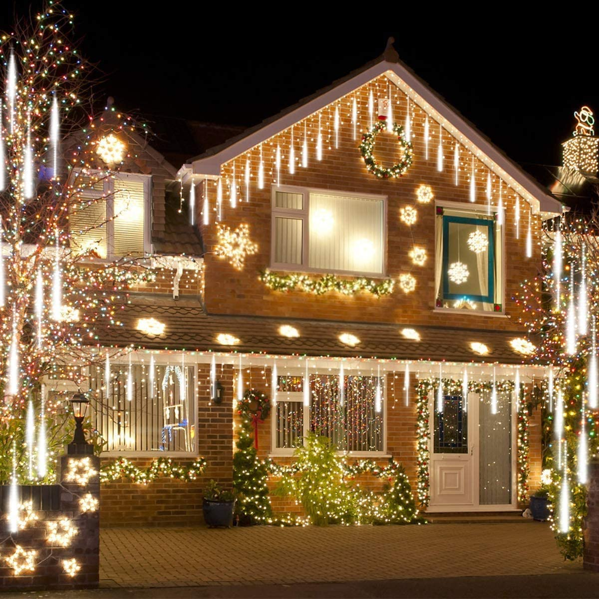 🔥The More You Buy, The More Cost-Effective🔥Snow Fall LED Lights Set (Extension Plug Included)