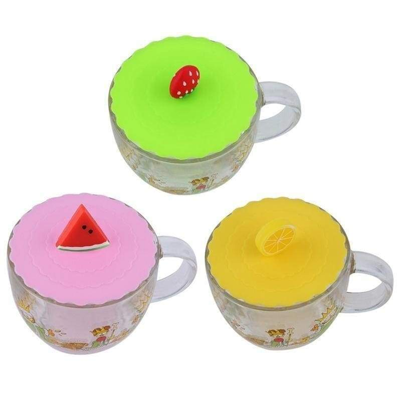Silicone lid fruit creative home office supplies anti dust cover