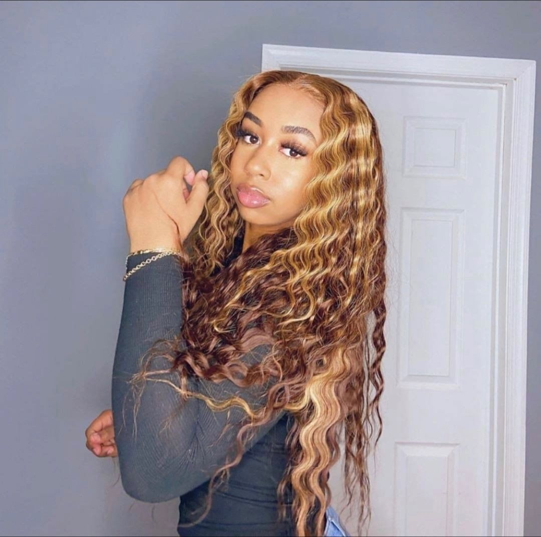 Lace Front Wigs Brown Wigs Blonde Wigs Natural Hair Lightening Spray Ash Blonde Hair Color Wigs For Black Women