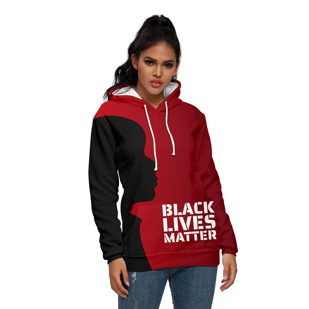 Unisex Hoodie Black Lives Matter BLM Human Rights Pullover Sweatshirt