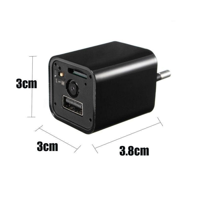 Hidden Camera Charger Motion Detection AC Adapter Wifi HD 1080P Video Record Cam
