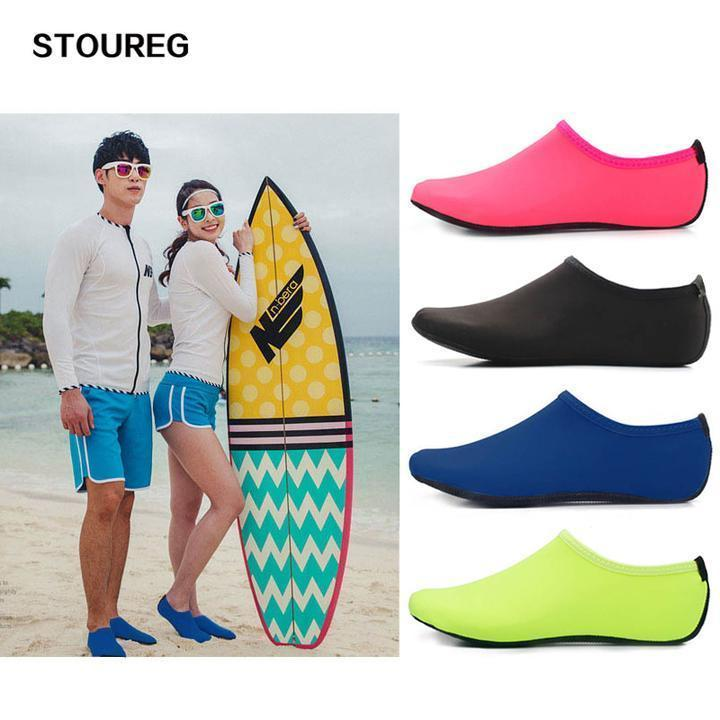 【Buy 4 free shipping】Womens and Mens Water Shoes Barefoot Quick-Dry Aqua Socks
