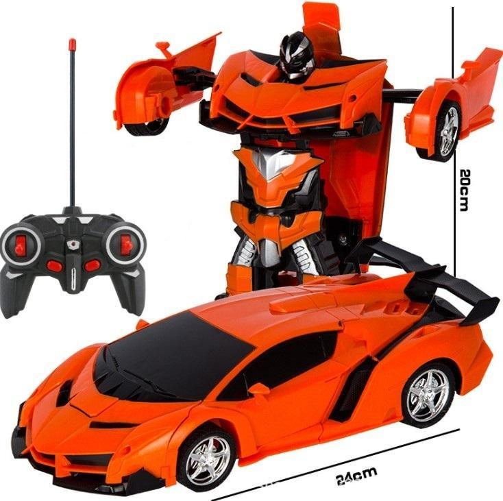 【Christmas Promotion 50% OFF,Buy 2 Get Additional 5$ Discount】Gesture Sensing & Remote control Transformation Car Model