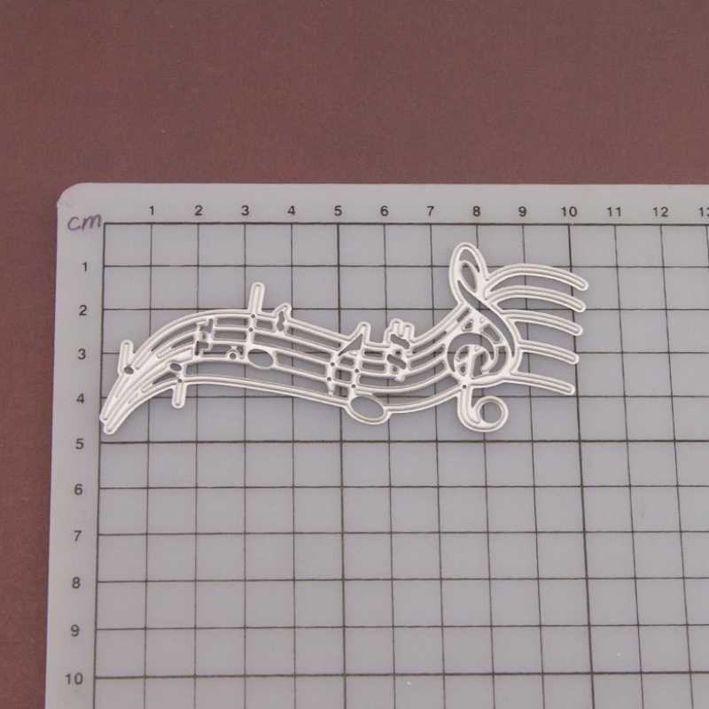 1pcs Note Metal Cutting Dies Note Embossing Stencil for DIY Scrapbooking Photo Album Paper Card