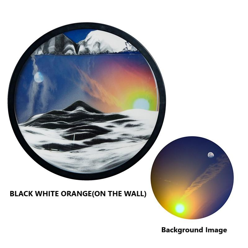 Large size:60CM🔥Mountains Moving Murals Sand Pictures Art(On The Wall)📢 50% OFF