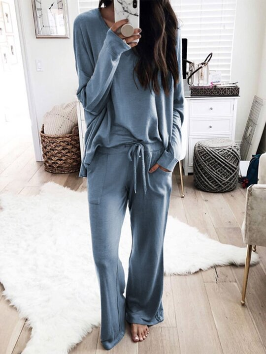 Plus Size Long Sleeve Casual Suits