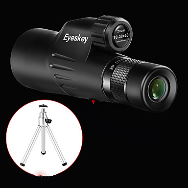 Eyeskey 10 X 50 mm Monocular Porro Waterproof Night Vision in Low Light Portable FMC Multi-coated BAK4 Camping / Hiking Hunting Traveling / Bird watching
