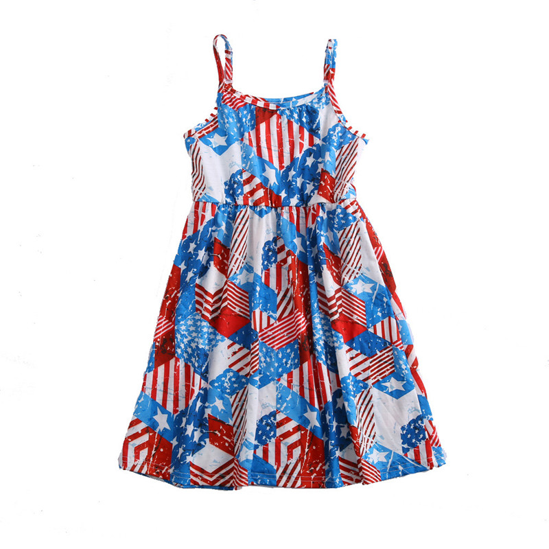 Family Dress with Stripes and Stars