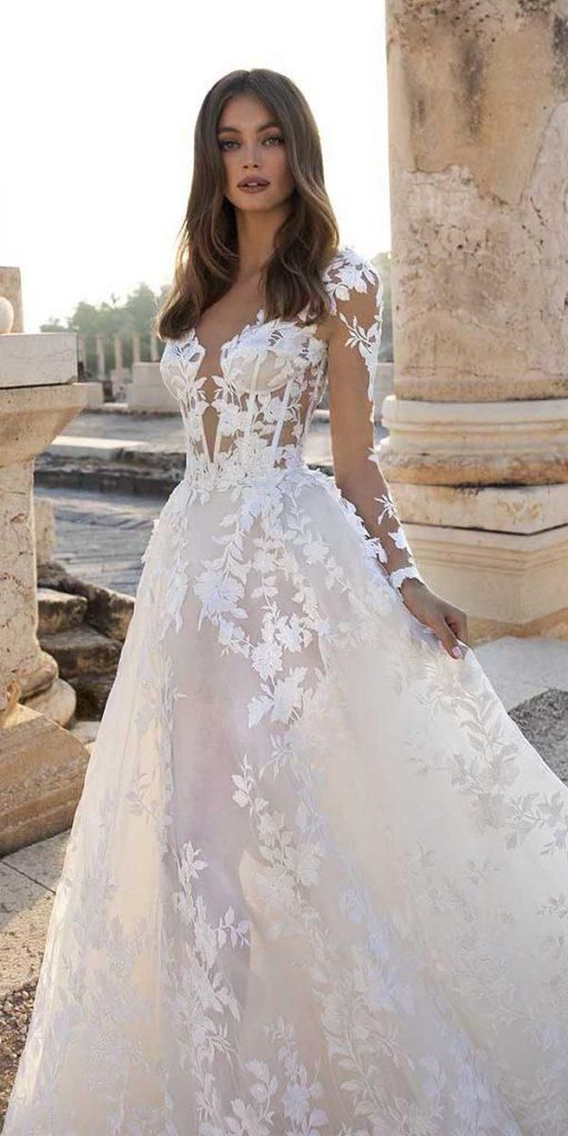 Lace Wedding Dresses 2020 New 715 Western Dresses For Marriage Boutique Dresses Pre Wedding Outfits Jumpsuit Outfit Mom Of The Bride Dresses African Wedding Gowns