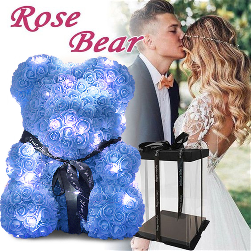 🥇( Sale-50% OFF Today)-The Luxury Rose Teddy Bear