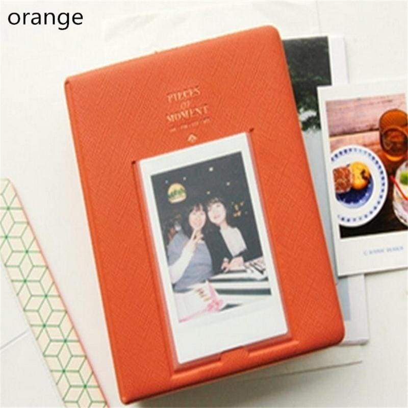 Hot Instax For Polaroid Album Case Photo Storage Mini Film Pieces of Moment Size 64 Pockets