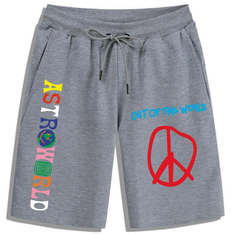 ASTROWORLD Shorts Travis Scott pants Out Of This world Pants