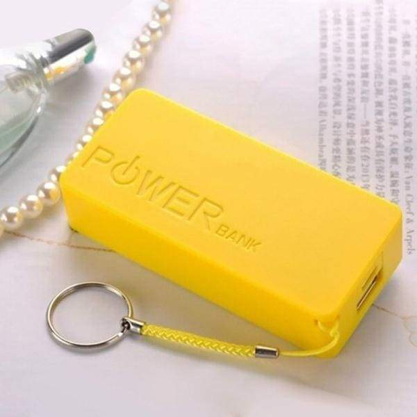5600mAh 2X 18650 USB Power Bank Battery Charger Case DIY Box (battery Is Not Included)