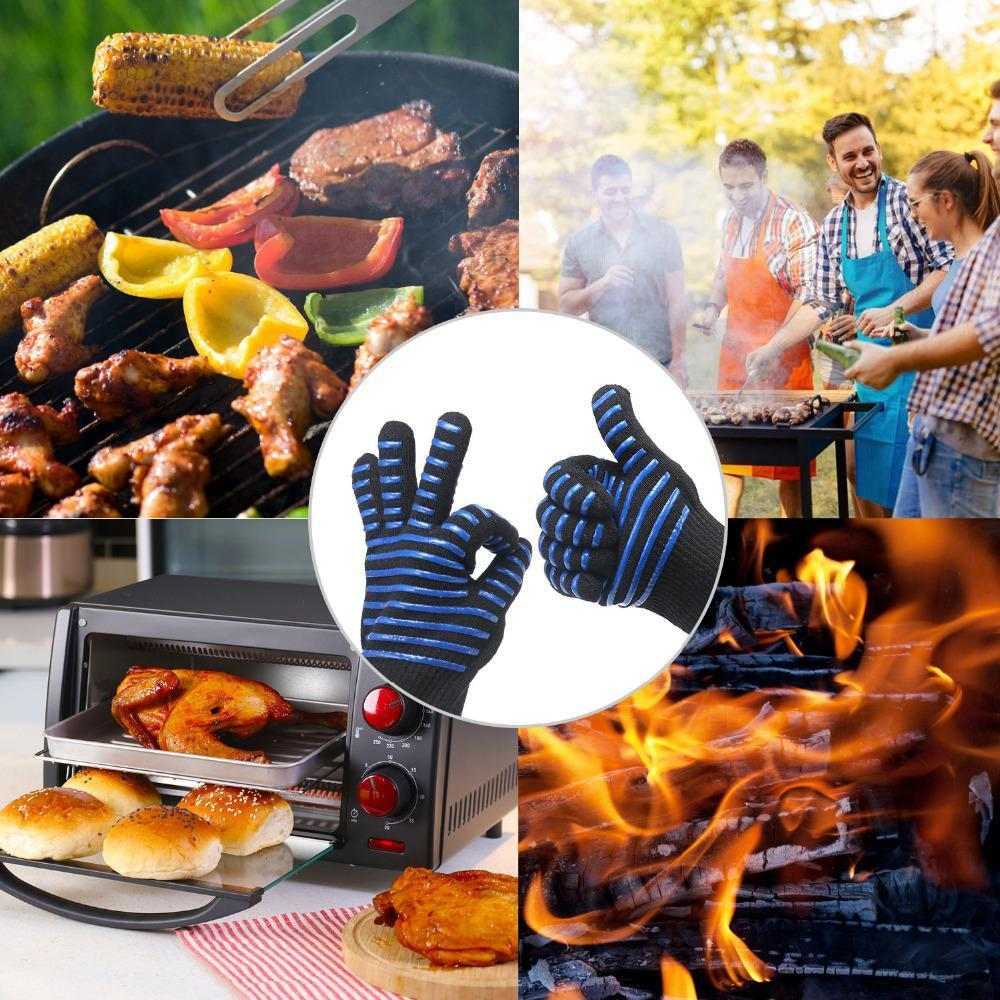 932°F Extreme Heat Resistant BBQ Fireproof Glove