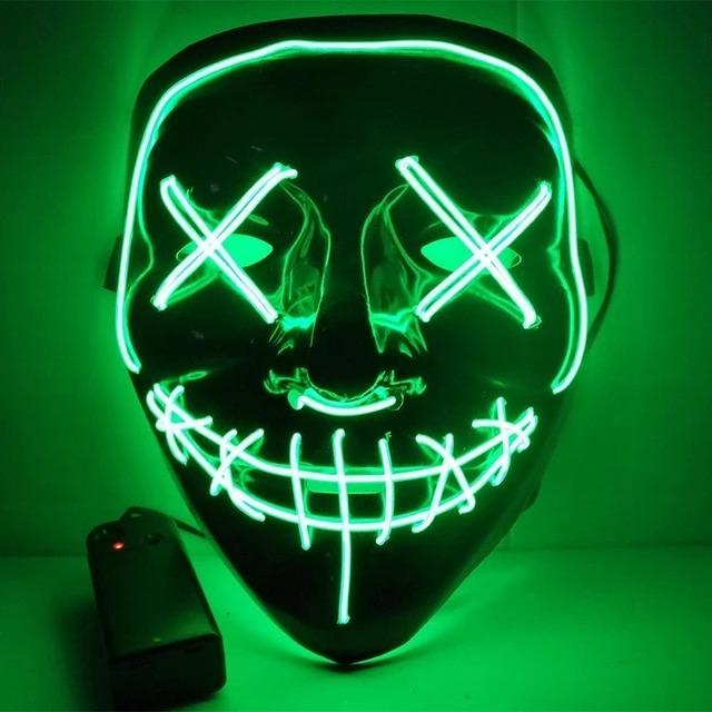 🔥50% OFF Advance Sales In Halloween--Unisex Night Wraith LED Mask, Buy 2 Free Shipping