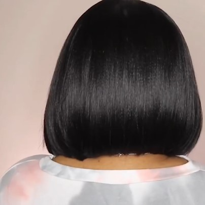LACE STYLE SHORT WIG HUMAN HAIR WIG