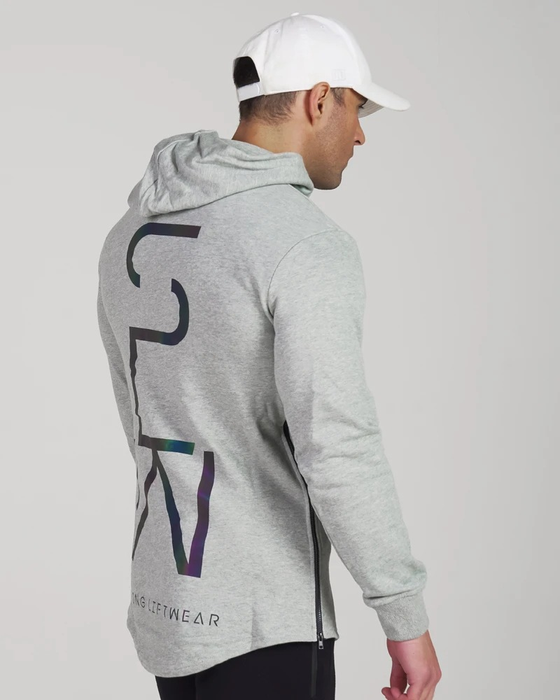 Colorful reflective hoodie