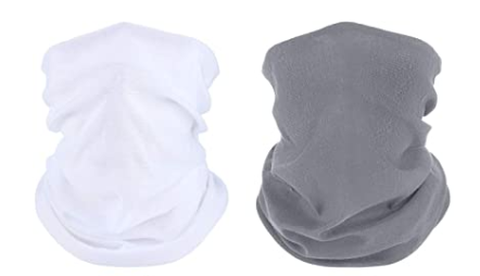 Face Cover Mouth Mask Bandana Neck Gaiter Cool Lightweight