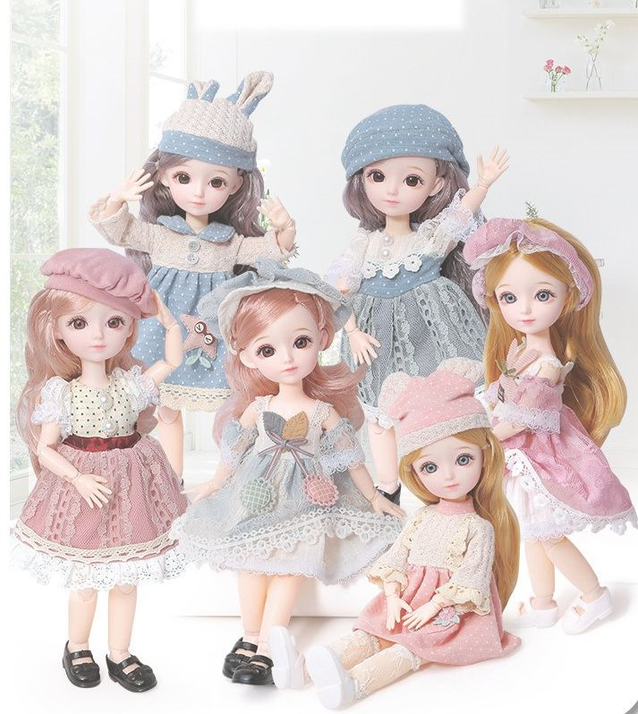 Beautiful And Cute  Evelyn Doll  With Princess Dress🌸—Liliana