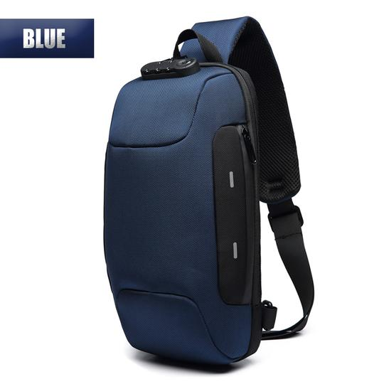 (Waterproof) Anti-theft Backpack With 3-Digit Lock Shoulder Bag for Mobile Phone Travel